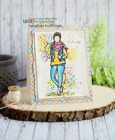 Vicki Girl by Angie Blom and Unity Stamp Co
