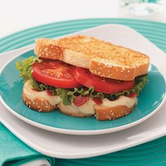 Italian BLTs- 7 weight watchers points plus value for 1 sandwhich! YUM