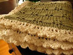 Ravelry: 24-25-48 Lace Baby Blanket pattern by Pierrot (Gosyo Co., Ltd)