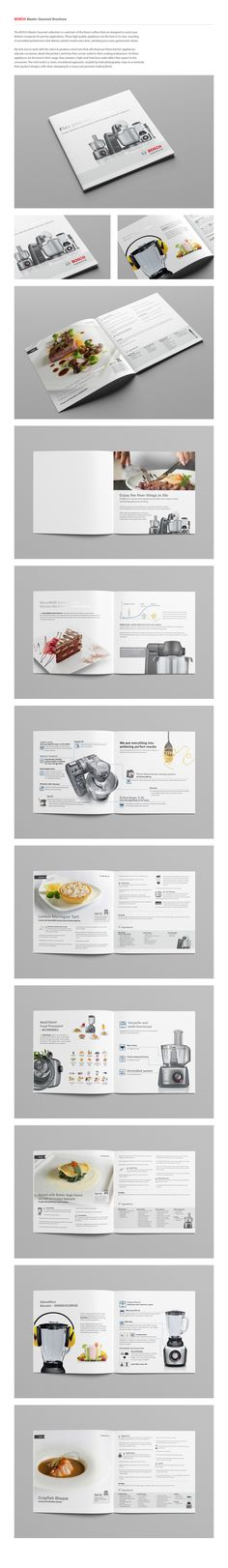 BOSCH: Master Gourmet Brochure on Behance
