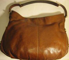 Vtg Liz Claiborne Leather Bag, Brown. #LizClaiborne #Vintage