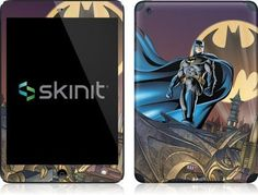 Skinit Batman in the Sky Vinyl Skin for Apple iPad Mini by Skinit. Save 20 Off!. $19.99. IMPORTANT: Skinit skins, stickers, decals are NOT A CASE. Our skins are VINYL SKINS that allow you to personalize and protect your device with form-fitting skins. Our adhesive backing can be applied and removed with no residue, no mess and no fuss. Skinit skins are engineered specific to each device to take into account buttons, indicator lights, speakers, unique curvature and will not interfere wit...