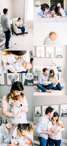 Lifestyle newborn session with black and white baby boy nurseryYou can find Lifestyle newborn and more on our website.Lifestyle newborn session with black and white. Boy Maternity Photos, Newborn Family Pictures, Newborn Baby Photos, Newborn Poses, Newborn Session, Baby Boy Newborn, Maternity Shoots, Family Posing, Family Photos