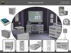 Living Dead Girl's Emma Bedroom