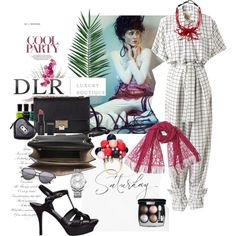 DLRBOUTIQUE.COM by akchen on Polyvore featuring Mode, Off-White, Yves Saint Laurent, Jimmy Choo, Brunello Cucinelli, Calvin Klein,…
