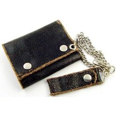 Amazon.com: Vintage Leather Chain Wallet #4: Everything Else