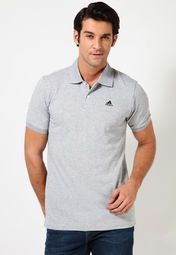 A perfect gift for your brand-conscious brother, this grey coloured polo T-shirt from Adidas is worth investing in.  Made from polyester, this regular-fit T-shirt is soft and comfortable to wear.