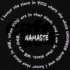 I honor the place in you where the whole universe dwells and I honor that place in me... we are all one. Yoga Studio Design, Yoga Inspiration, Yoga Meditation, Yoga Flow, Zen Yoga, Kundalini Yoga, Chakras, Namaste Art, Restorative Yoga