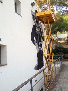 Seguimiento proyecto Catarsis de Llorens Balaguer Negrotinto #BetArtCalvia 2013
