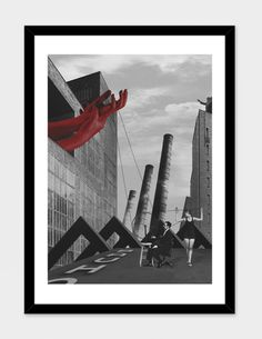 """photographing # 1"", Limited Edition Fine Art Print by le Corbus - From $29.00 - Curioos"
