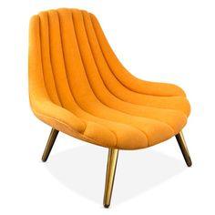 1960s-style Brigitte Lounge Chair by Jonathan Adler
