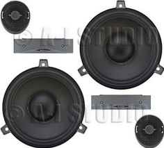 "Boston Acoustics SC60 6.5"" Car Audio Component Speakers by Boston Acoustics. $249.99. 6-1/2"" (165mm) Copolymer Cone Woofer 3/4"" Type-S2 Kortec Dome Tweeter Separable And Dockable Crossovers Flush/Angle- And Surface-Mount Tweeter Mounting Kit Power Range: 65 watts (RMS)Power 180 Watts (Peak) Power Frequency Response: 55Hz-20KHz Sensitivity: 90 dB Top-Mount Depth: 2-1/2"" SPECIFICATIONS Speaker/Subwoofer Size : 6.5"" Design : 2-Way Component Speakers Power Handling (RMS)..."