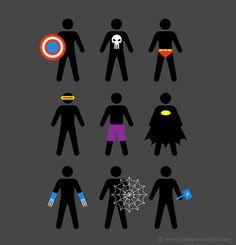 Minimalist Heroes