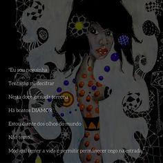 Ilustração Muié Colores - La Flaca Madalena