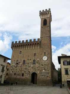 Beautiful Renaissance town of Scarperia in Mugello, to the north of Florence