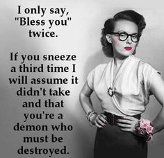 You must be a demon.  :) This is exactly how I feel about it!