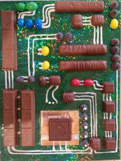 Das Geschenk kommt garantiert gut an. Diy Birthday, Birthday Gifts, Happy Birthday, Birthday Cake, Geek Cake, Geek Culture, Food Art, Diy Gifts, Geek Gifts