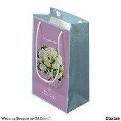 Wedding Bouquet Small Gift Bag