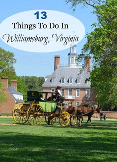 Things to Do in Williamsburg, Virginia