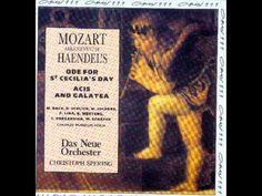 Mozart Arrangement of Haendel's Ode for St. Cecilia's Day Overture - Overture (1 of 10)