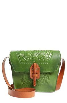 Patricia Nash 'Tooled Rose - Marciana' Italian Leather Crossbody Bag   Nordstrom