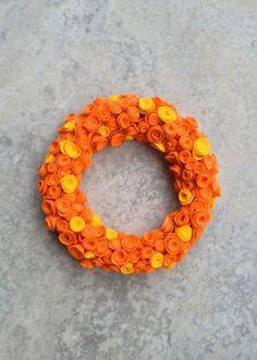 Resultado de imagem para artesanato de natal laranja
