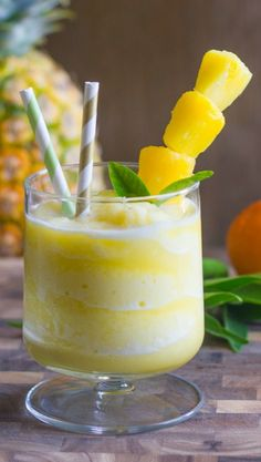 SKINNY PINEAPPLE ORANGE SLUSH