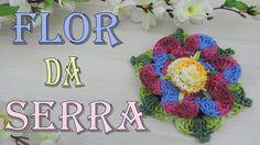 "Flor da Serra - Crochet ""Soraia Bogossian"""
