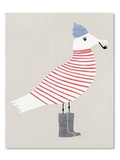 Seagull print, $35