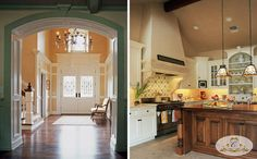 Entryway & Kitchen