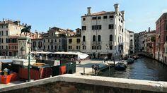 Venedig Brücke Meer Insel Altstadt