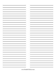 Lined Paper With Borders-good collection of free printable ...