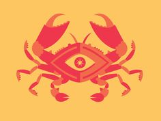 Dribbble - Weird Crab Thing by Andrew Power
