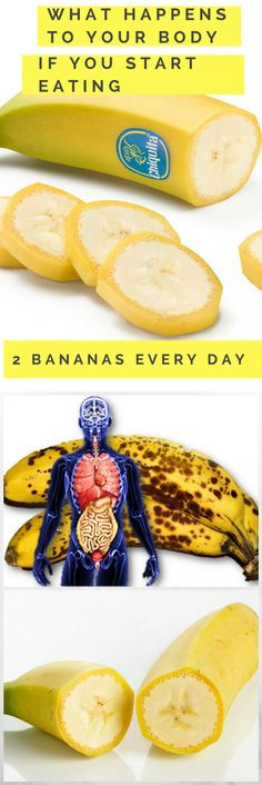 What Happens To Your Body If You Start Eating 2 Bananas Every Day