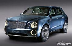 Bentley EXP 9F será o mais caro SUV do planeta  » www.salaodocarro.com.br/previas/bentley-exp-9f-suv.html