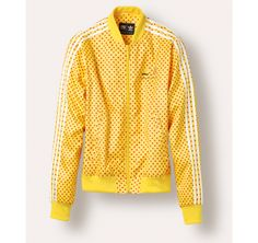 Pharrell Williams Polka Dot Track Jacket in Yellow & Red