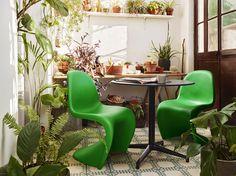 Green Panton Chair - Vitra