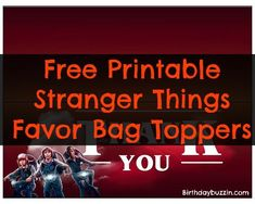 41 Best Stranger Things Birthday Party Ideas and Themed ...