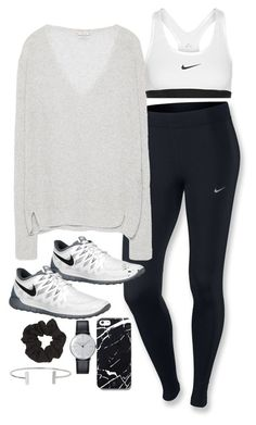 """""""Sin título #4995"""" by marym96 ❤ liked on Polyvore featuring NIKE, Zara, Free People, Klein & more, Topshop and Humble Chic"""
