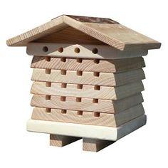 Abri pour abeilles solitaires