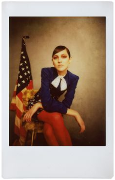 Photo by Ruby June. Taken with the Lomo'Instant Automat Glass Magellan. Model: Lida Fox Special thanks to Acme Studios