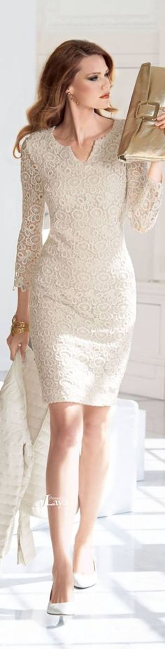 @roressclothes clothing ideas #women fashion lace dress