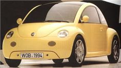 URBI-ET-ORBI……My Bucket List Journals. Volkswagen New Beetle: Modern version of the old bug. Concept One was the name of the new concept of re-doing the classic VW Beetle. This version has the engine in the front and trunk space in the back, similar to most vehicles now.