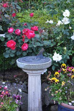 Sundial at Butchart Gardens, Victoria, BC