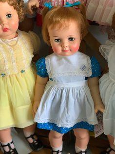 Girls Dresses, Flower Girl Dresses, Summer Dresses, Ideal Toys, 1960s, Play, Dolls, My Love, Wedding Dresses