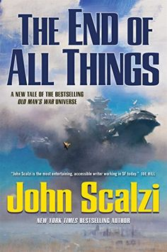 The End of All Things (Old Man's War) by John Scalzi http://www.amazon.com/dp/0765376075/ref=cm_sw_r_pi_dp_qAgbwb0FJXDYG