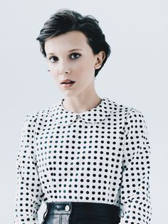 Millie bobby brown: Stranger Things She inspires me that at such a young age she is so talented and successful.