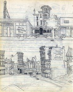 From Robert Crumb's  Sketchbook, circa 1962