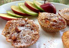 Oppskrift: sunne og sukkerfrie eplekake- muffins!
