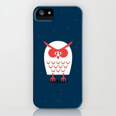 OWL iPhone Case by Vaughn Shim - $35.00